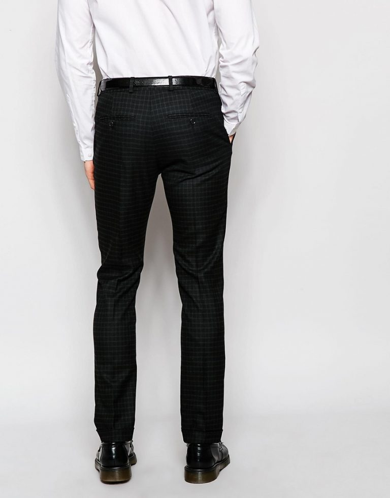 Black Denim Designer Suit