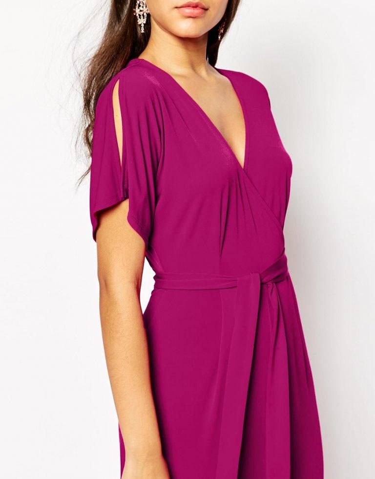 Blue Forest Purple Dress